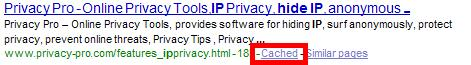 Browse Anonymously with Google
