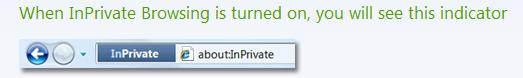 Internet Explorer 8 InPrivate