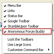 Anonymous forum buddy