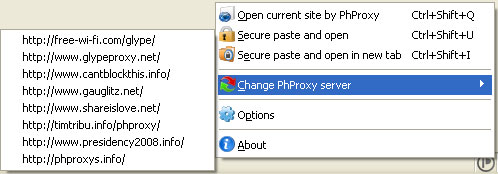 PHProxy InBasic Change Proxy