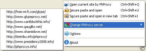 PHProxy InBasic Change Proxy