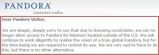 Unlock Pandora