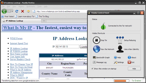 Portable Anonymous Browsers - Tor Browser