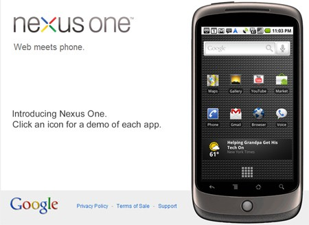 How to get Nexus One outside US