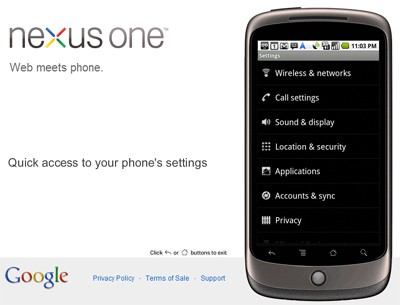 Google Nexus One VPN