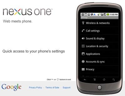 Google Nexus One VPN