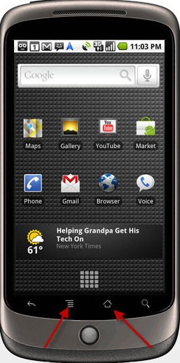 Nexus One VPN Step 2