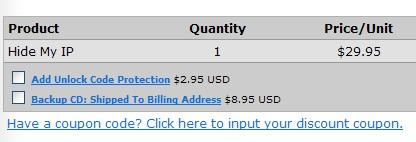 Hide My IP discount