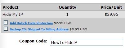 Hide My IP 5.0 Discount