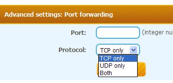 SmartHide Port forwarding
