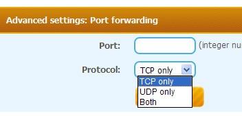 SmartHide Port forwarding