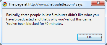 How to bypass Chatroulette ban