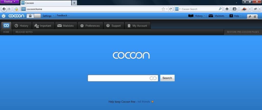 Free Firefox Add-on Cocoon