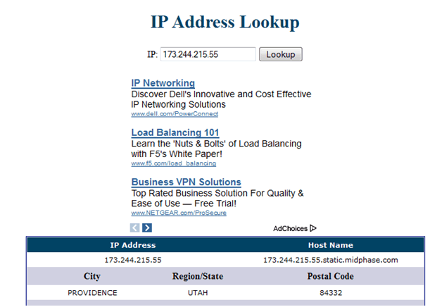 Free VPN Connection - IP three