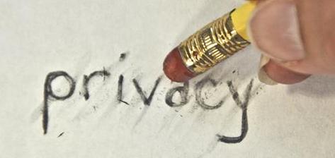 No online privacy