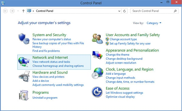 L2TP VPN Windows 8