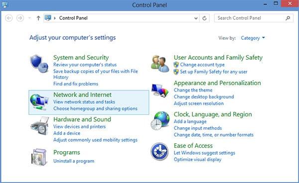 L2TP VPN Windows 8