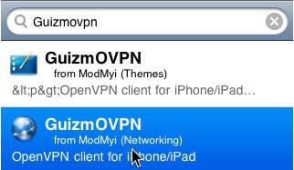 OpenVPN iPad