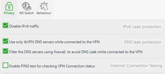 ibVPN All In One VPN Leak Protection