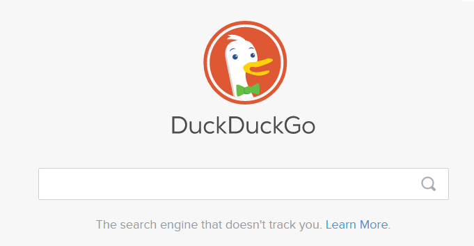 Private Search Engines - DuckDuckGo