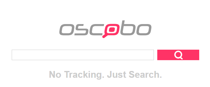 Oscobo - Search engine that never tracks