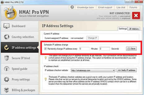 How to Automatically Change IP Every X Minutes - Hide