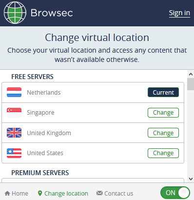 Free Firefox Proxy - Browsec VPN