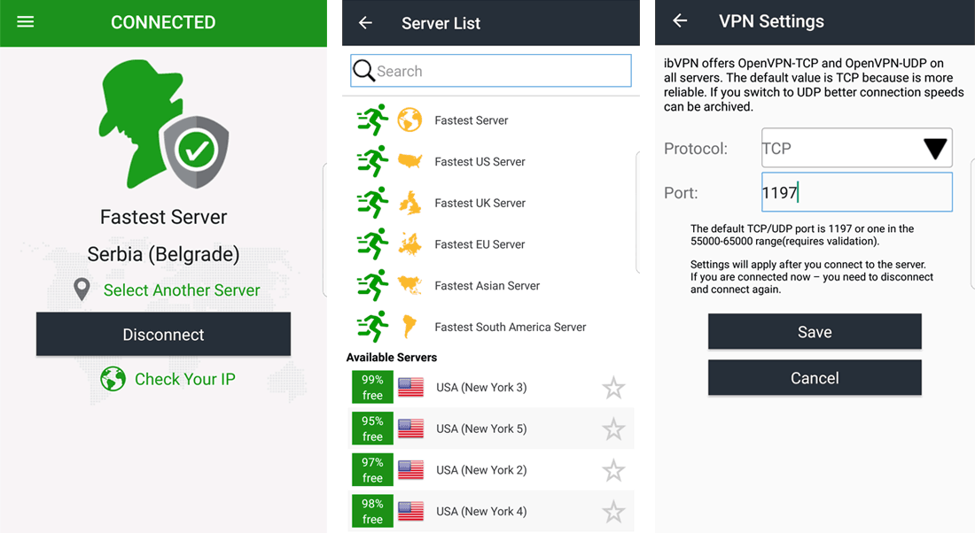 ibVPN Android App