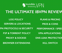 ibVPN review - Pros, cons, features