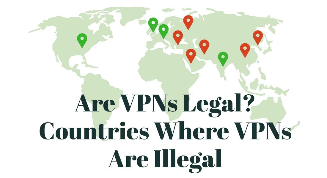 Is hiding vpn illegal