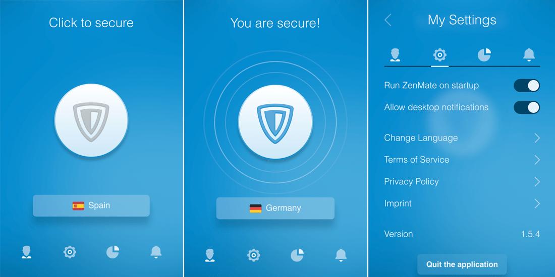 ZenMate Review - ZenMate MacOS app