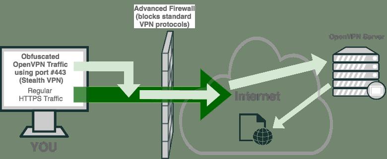 StealthVPN - OpenVPN HTTPS Traffic