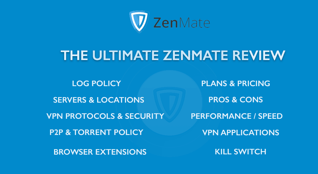 ZenMate Review - Banner