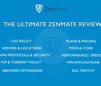 Zenmate Review - Pros & Cons
