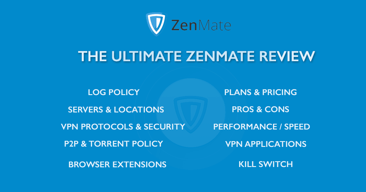 The Ultimate ZenMate Review - Updated 2019 - How-to-hide-ip