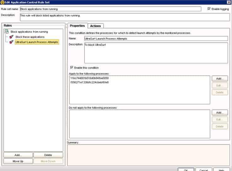 Ultrasurf Block - Symantec
